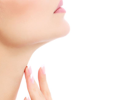 Bellevue Facelift - plastic surgeon model neck