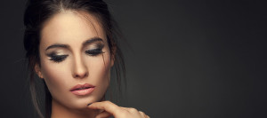 rhinoplasty nose surgery woman close up