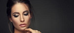 rhinoplasty nose surgery woman close up
